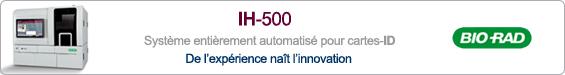 Bannière IH 500 de Bio-Rad